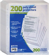 Better Office Products Sheet Protectors 200 Piece