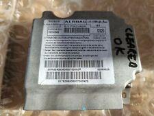 2009 FIAT 500 AIRBAG ECU SRS MODULE CONTINENTAL Metal Case 51782985 08-13