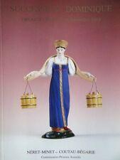 Catalogue de vente Succession Dominique Leon Aronson Icone Art Russe Figurine