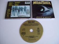 MIDAS TOUCH Presage of Disaster CD 1989 RARE OOP THRASH ORIGINAL 1st PRESS USA!!