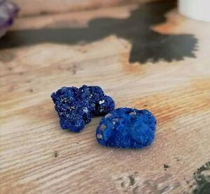 Small Azurite Raw Cut Crystal