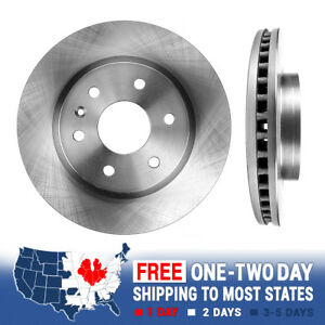 Front Brake Disc Rotors For 2009 2010 2011 2012 2013 2014 Chevy Traverse
