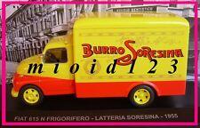 1/43 - Fiat 615 N Frigorifero : LATTERIA SORESINA - 1955 - Die-cast