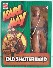 Mattel Karl May Old Shatterhand boite vitrine jamais ouverte vintage 75 réf 9405