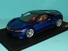 Top Speed Models 1/18 Honda NSX 2017 RHD Nouvelle Blue Pearl MiB