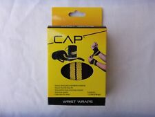 CAP PREMIUM  WRIST WRAPS WITH THUMB LOOP FIT 2 PER BOX  WEIGHT LIFTING SPORTS