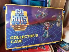 Go Bots Tonka Vintage 1984 Collector's Case Go-Bots Action Figures 1980s lot