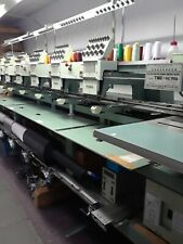 Tajima Commercial Embroidery Machine Tme-Hc906, 6 head 9 Needle