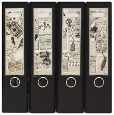 Design Ordner-Rückenschilder zum Einstecken breit - Motiv Things on the - IC-021