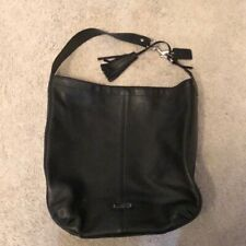 black leather coach bag N1380123309