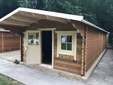 Log Cabin Cafe / shop,10 by 6 meters, price includes  build at your location.