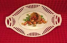 "SCHUMANN Bavaria 9.5"" Fruit Dish With Gold Trim"