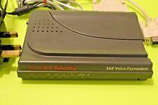 3Com US Robotics 56k 56kbps V.92 External UEM53CJ81J Serial Data Voice Fax Modem