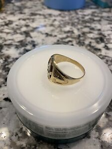 Mens Vintage Gold Masonic 9.6g Ring Antique Lot With Cuff Links Bible & Ornament