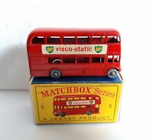 MATCHBOX 5 C ROUTEMASTER BUS GPW + NICE D BOX