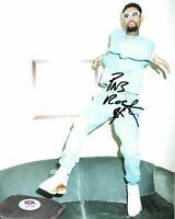 PNB Rock signed 8x10 photo PSA/DNA Autographed Rapper