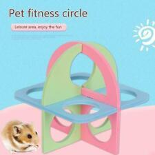 Wooden Hamster Boredom Breaker N-Climb Small Animal Kit Play Activity Toy T5T2