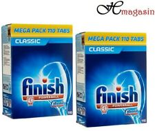 2 x FINISH Lavastoviglie Powerball Classic Pack Tablet-Large PSVITA 110 schede