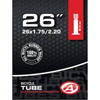 Author Fahrrad Schlauch Butyl 26 Zoll AV Autoventil 32mm 47/55-559 MTB ATB City