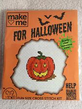 MOUSELOFT cross stitch kit ~ me faire pour halloween ~ pumpkin ~ nouveau