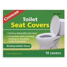 Coghlan's travel festival camping campervan paper loo/toilet seat sover