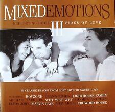 MIXED EMOTIONS 3. VARIOUS ARTISTS. 2 x CD DISCS ALBUM. NEAR MINT. UK DISPATCH