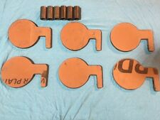 "AR500 Target Dueling Tree DIY Kit 6pcs 4""x3/8"" and 6pcs 6""x3/8"" Pads with Tubes!"