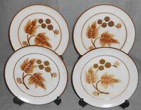 Set (4) Denby COTSWOLD PATTERN Salad Plates ENGLAND