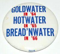 1964 ANTI BARRY GOLDWATER Lyndon B. Johnson LBJ pin pinback button political