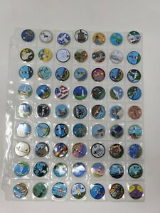 Pathtags Geocaching Lot of 63 Mixed Lot Lighthouse Donald Duck Rabbit & Others