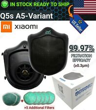 [Upgraded Variant] Xiaomi Q5s Face Mask Motorized Respirator Air Purifier