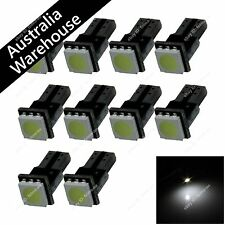 10X White T5 74 17 1 5050 LED Dashboard Licence Plate Speed Wedge Light PCB Bulb