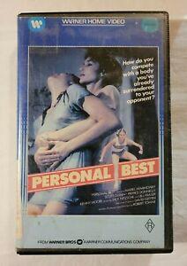Personal Best VHS 1982 Mariel Hemingway 1984 Warner Home Video [Ex-Rental]