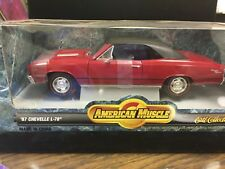 1:18 Die Cast American Muscle 1967 Chevelle L-78