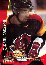 2002-03 Belleville Bulls #3 Rane Carnegie