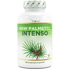 Saw Palmetto Sägepalme 180 Kapseln 500 mg - mit 25 mg Phytosterol - Vegan