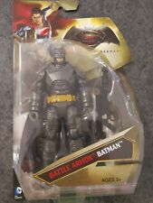 BATMAN vs SUPERMAN Battle Armor Batman DC COMIC Mattel 6 inch DAWN OF JUSTICE