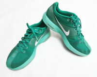 Nike Lunarlon Sneakers Running Womens Shoes Size 8.5 Women Wmns Green Essential