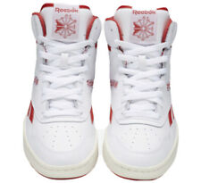 Reebok BB4600 Men's White/Primal Red/White Size 10
