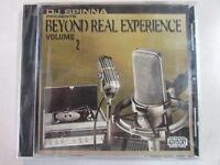 DJ SPINNA PRESENTS BEYOND REAL EXPERIENCE VOLUME 2 18 TRK 2002 CD RAP HIPHOP OOP