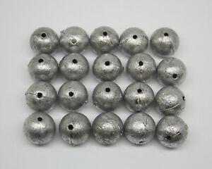 Ball Sinkers size 00 0 1 2 3 4 5 6 7 8 9 10, 2g - 130g, Bulk Packs, Mixed Packs