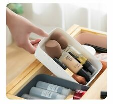 3pices Drawer Cosmetics Organiser For Boxes Makeup Organizer Plastic Drawers