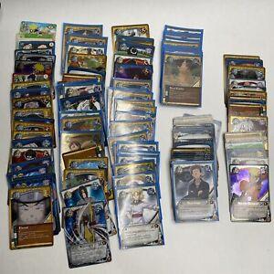 120 NARUTO TCG CCG RANDOM MYSTERY CARD Lot. Mostly 1st edition cards