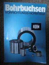 Bohrbuchsen-Vorrichtungs-Normteile Robert Blohm, Büchen, 1971 - guter Zustand
