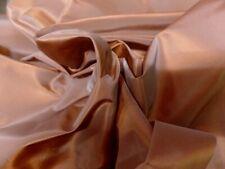"""2m deux tons de couleur cuivre tissu taffetas 58 /""""wide"""