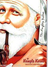 KRINGLE KARDS TRADING CARDS CHRISTMAS SKETCH CARDS TRADING CARDS PROMO CARD PK2