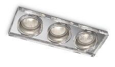 Plafonniers Lampe PHILIPS 595631116 Eclairage Variateur Chromé 3 x 35 W NEUVE