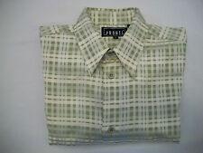 Pronti Men's Long Sleeve Casual Dress Shirt - Size Medium