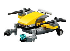 LEGO Deep Sea Scuba Scooter with Robotic Arm + Crystal NEW split from set 60090