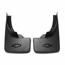 2014-2018 Chevrolet Silverado Rear Molded Splash Guards 23387353 Black Grained